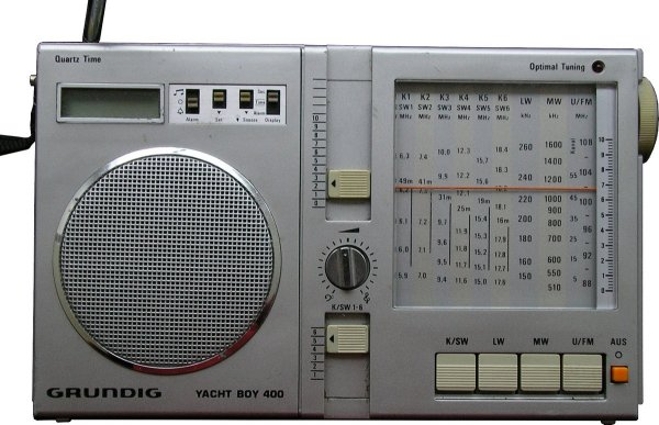 Grundig Yacht Boy 400 (old)